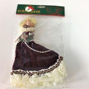 Kurt S. Adler Victorian Woman Christmas Ornament